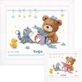 Telpakket kit Geboortefeestje - Vervaco - PN-0157028