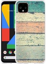 Google Pixel 4 XL Hoesje Steigerhout