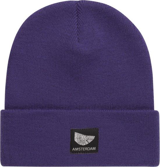 Purple Beanie Amsterdam