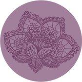 Lotus Meditatiekussen - Violet - Yoga Kussen
