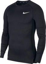 Nike Pro 4 Compressie Sportshirt - Maat L  - Mannen - zwart