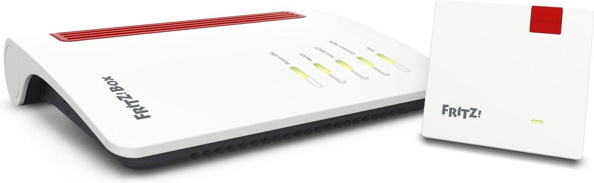 AVM FRITZ!box Mesh Set - Multiroom wifi set / Router 7530 + Mesh repeater 1200