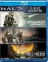 Halo box (Halo 4: Forward Unto Dawn, Halo: Nightfall, Halo: The Fall of Reach)
