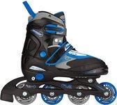 Junior Inline Skates Verstelbaar Junior Zw Maat 27-30