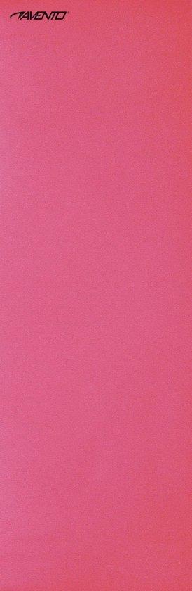 Avento Fitnessmat - 160 cm x 60 cm x 0,7 cm - Roze