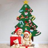 Vilten kerstboom – Kinderen – Klittenband – Kinderkerstboom – Kerstboom voor kinderen – kerstcadeau – speelgoed – versiering – muurboom – Kerststickers – kerstspeelgoed – kinder kerstboom – december versiering – veilig – kwaliteit – snelle levering