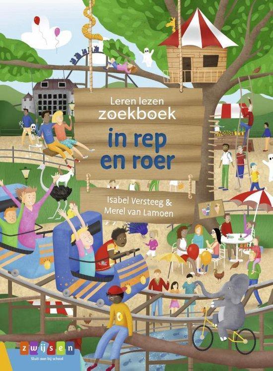 Leren lezen zoekboek - in rep en roer - Isabel Versteeg  