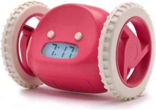 iBello rijdende wekker - Roze