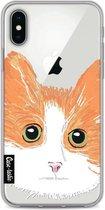 Apple iPhone X / iPhone XS hoesje Little Cat Casetastic Smartphone Hoesje softcover case