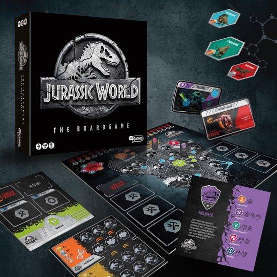 Jurassic World the boardgame - bordspel