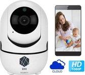 Ons Best Verkochte & Beveiligde Babyfoon van DHH Security© van Elite Quality, WiFi Security Camera, Motion en Geluid Detectie, Nachtvisie, 1080p, Two-Way Audio, iOS + Android App Besturing, SD Card + Cloud Storage, Draadloze Beveiligingscamera,