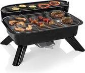 Princess 112252 - Hybride Elektrische Barbecue - Grilloppervlak (LxB) 44 x 28 cm