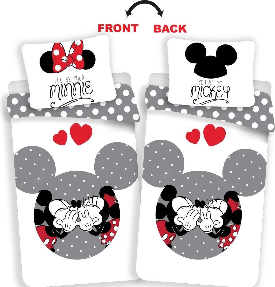 Mickey Dekbedovertrek-Disney Minnie Mouse Your Minnie- Eenpersoons- 140x200 cm - Multi kopen