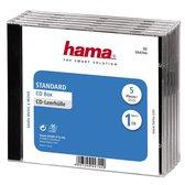 Hama Cd Box - 5 stuks / Geseald