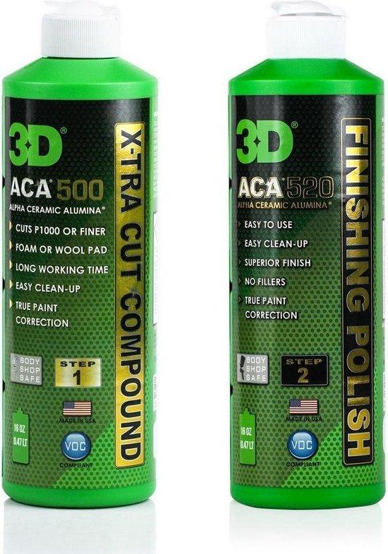 3D ACA X-TRA CUT COMPOUND 500 - 8 oz / 240 ml