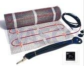 Danfoss EFTI 150/3 elektrische vloerverwarmingsset 3m2 450 Watt inclusief ECtemp Touch thermostaat