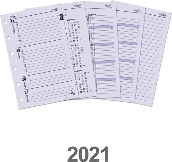 Afbeelding van Kalpa 6237-21 Pocket-Junior organiser week agenda NL 2021