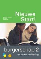 Boek cover Nieuwe Start! Participatie  - Nieuwe Start! Burgerschap Deel 2 Docentenhandleiding van Ncb