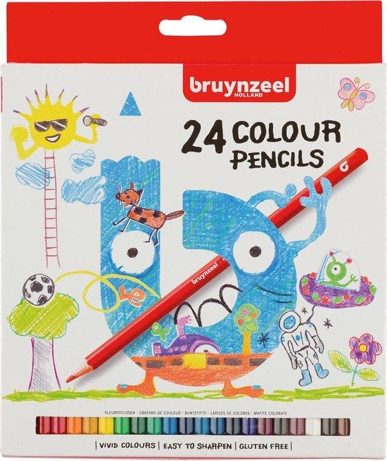 Afbeelding van Bruynzeel Kids 24 kleurpotloden