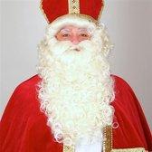 Luxe Pruik & Baard Sinterklaas die brandveilig is | Sinterklaas |Feest| Sint&Piet| Pruik Sinterklaas