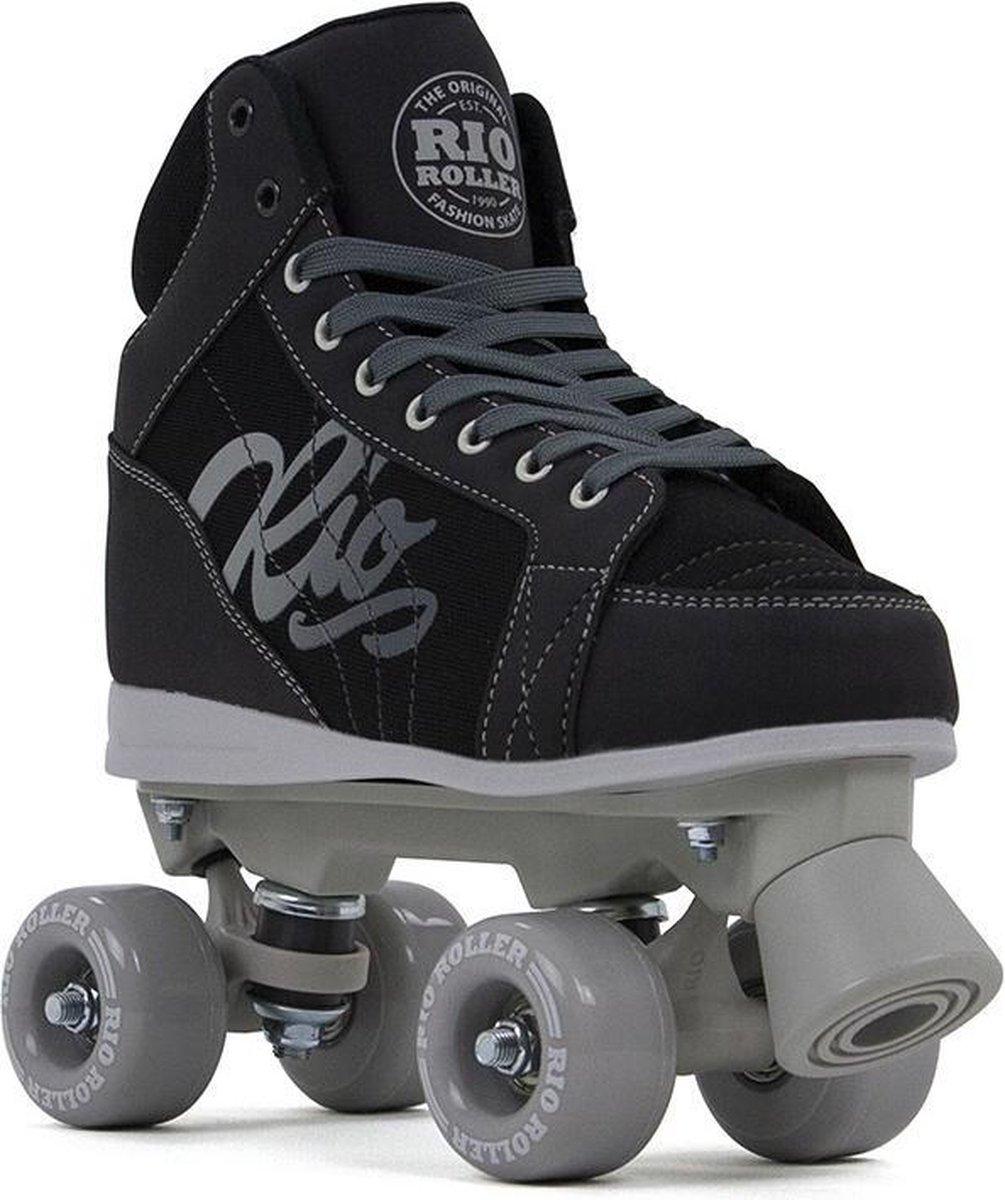 Rio Roller rolschaatsen - Lumina - zwart/grijs - maat 38