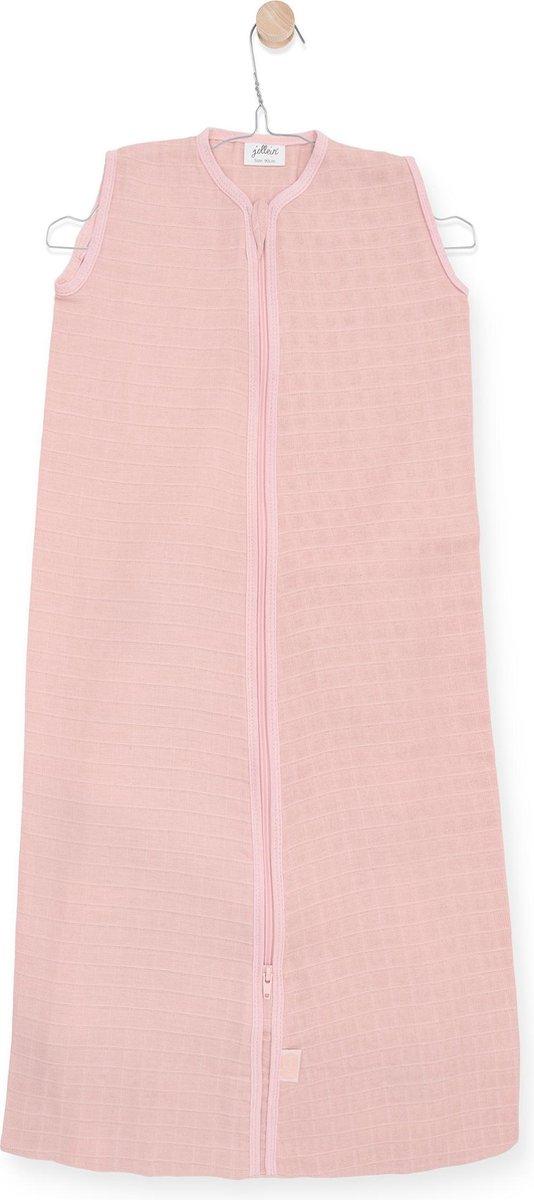 Jollein Slaapzak zomer hydrofiel 70cm - pale pink