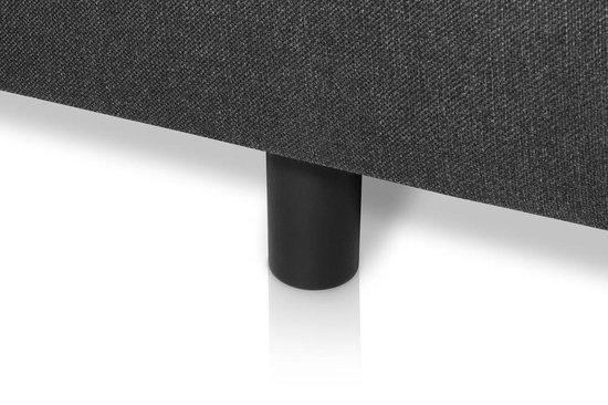 Boxspring Premium – 80x200cm – antraciet – - Bed4less