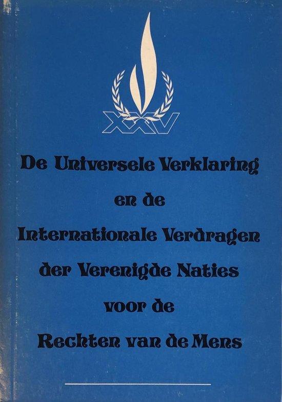 Universele verklaring voor de rechten van de mens - Verenigde Naties |