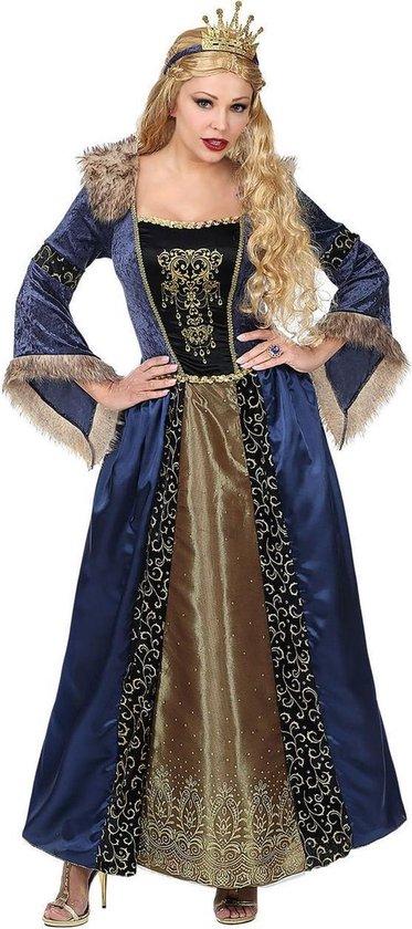 Koning Prins & Adel Kostuum | Middeleeuwse Koningin Gabriella Von Dantzig | Vrouw | Large | Carnaval kostuum | Verkleedkleding