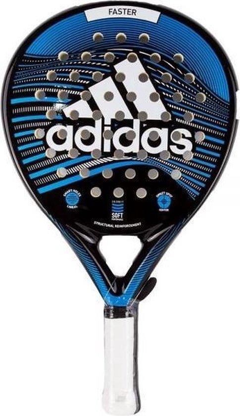 Adidas Faster Blue Padel Racket