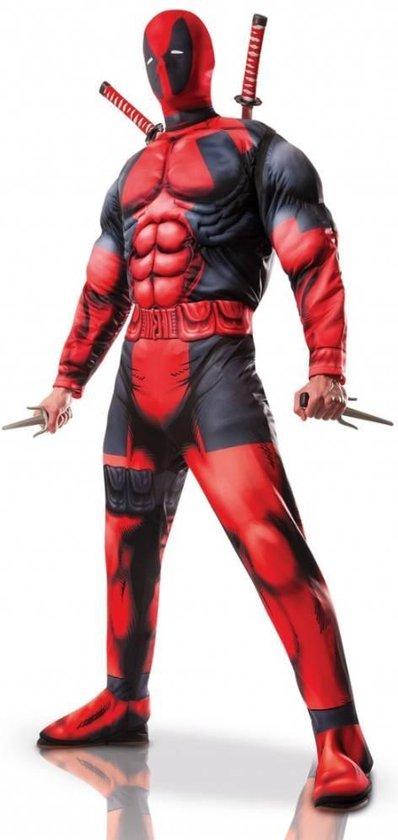 """""""Luxe Deadpool™ kostuum voor volwassenen - Verkleedkleding - XL"""""""