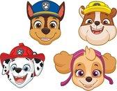 Paw Patrol Maskers 25,3cm 8 stuks