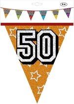 Slingers 50 Jaar Glitter 8 meter