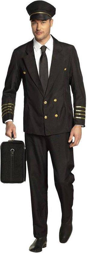 Piloot - Kostuum - Maat 54-56 - Volwassenen