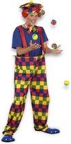 Volwassenenkostuum Clown Bonbon - Maat M/L - Carnavalskleding