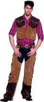 Volwassenenkostuum Cowboy Bruce (50/52) - Carnavalskleding
