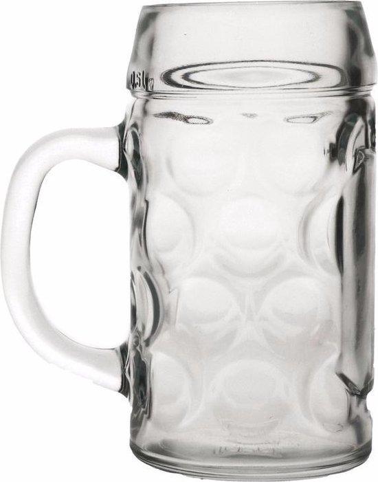 Oktoberfest - Bierpullen 1 liter 6 stuks