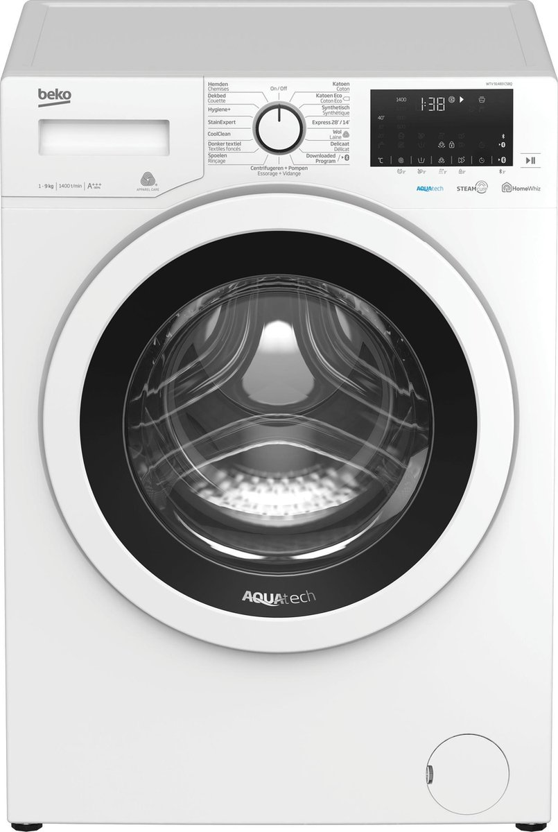 Beko WTV91483CSBQ – Wasmachine