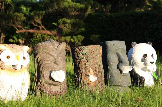 Rotary Hero Moai Tissue Box Houder - Tissuehouder - Grijs
