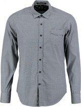Replay grijs slim fit overhemd valt kleiner - Maat  S