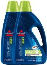 BISSELL 1087N - Wash & Protect Pet - schoonmaakmiddel voor tapijtreinigers - 1.5 ltr (set van 2)