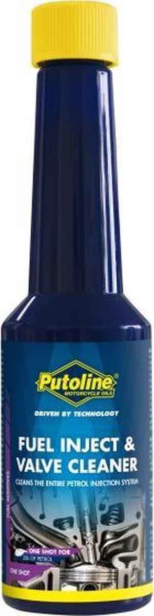 Putoline Inject & Valve Cleaner 150 ml   Benzine reiniger voor 2 en 4 Takt motoren