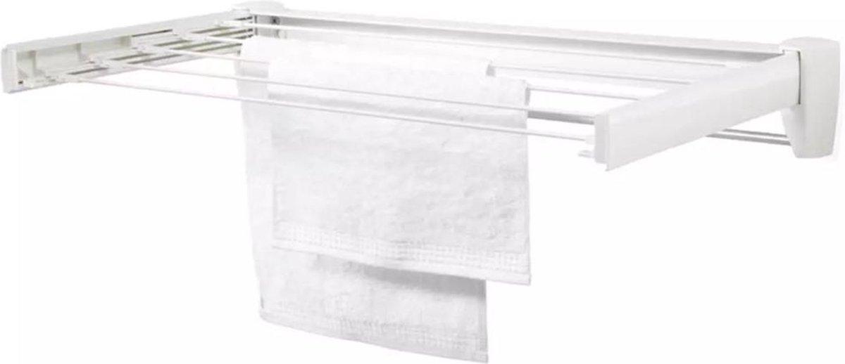 Leifheit Telegant 36 Protect Plus Droogrek - 3,6m Drooglengte - Inklapbaar - Wit
