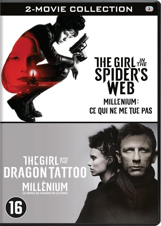 The Girl With The Dragon Tattoo (2011) / The Girl In The Spider's Web - Duo Pack