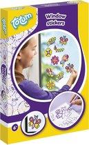 Totum Glitter Window Stickers - Raamstickers