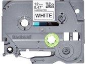 Brother TZE-231S labelprinter-tape Zwart op wit