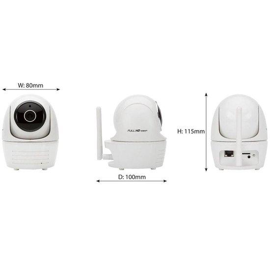 SecuFirst CAM114 IP camera - binnen - Pan/Tilt - 10M nachtzicht - FHD 1080P