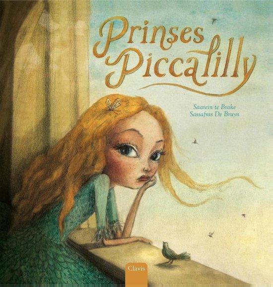 Boek cover Prinses Piccalilly van Saarein Te Brake (Hardcover)