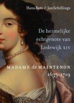 Boek cover De heimelijke echtgenote van Lodewijk XIV van Hans Bots
