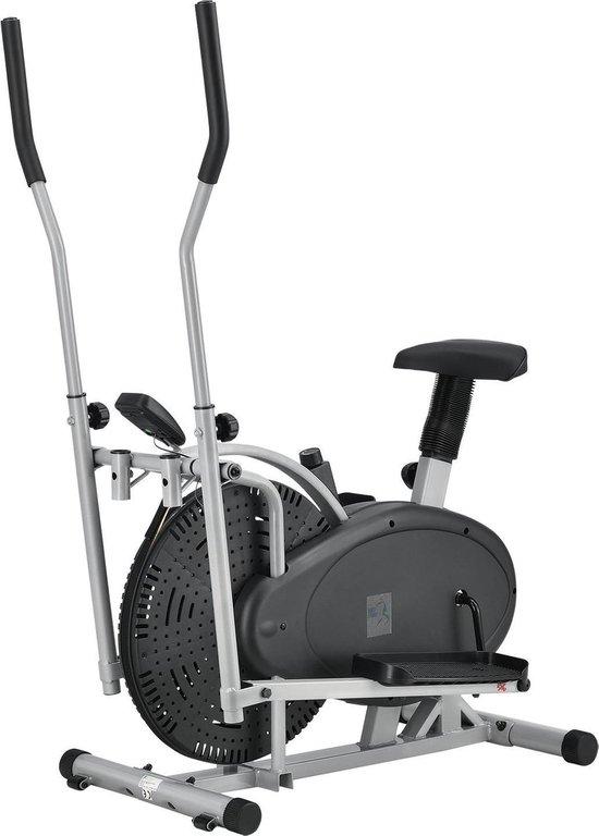 2 in 1 Hometrainer / Crosstrainer - 85 x 50 x 157 cm